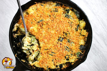 Low Carb Zucchini Gratin Casserole