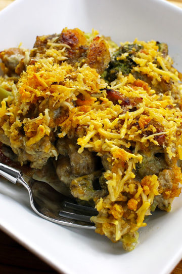 Low Carb Chicken Divan Casserole by Highfalutin' Low Carb