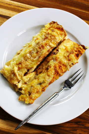 Low Carb Enchiladas Suizas