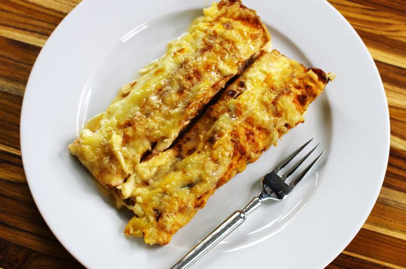 Low Carb Enchiladas Suizas/Suisse