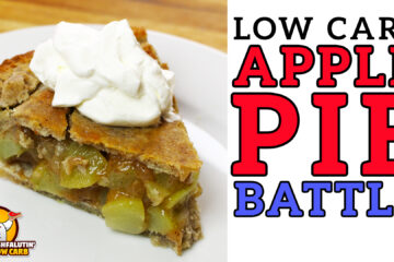 Low Carb Apple Pie Recipe Battle Video by Highfalutin' Low Carb