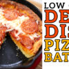 Low Carb Deep Dish Pizza Recipe Battle Video by Highfalutin' Low Carb