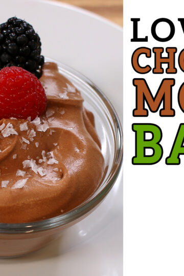 Low Carb Chocolate Mousse Recipe Battle Video by Highfalutin' Low Carb