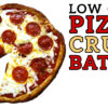 Low Carb Pizza Crust Battle Video #1 by Highfalutin' Low Carb