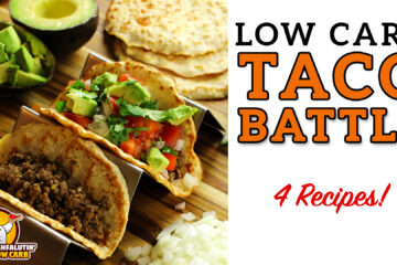 Low Carb Taco Shell Recipe Battle Video by Highfalutin' Low Carb
