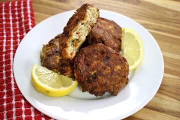 Keto Salmon Patty Recipe by Highfalutin' Low Carb