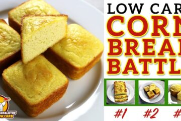 Low Carb Cornbread Recipe Battle Video by Highfalutin' Low Carb