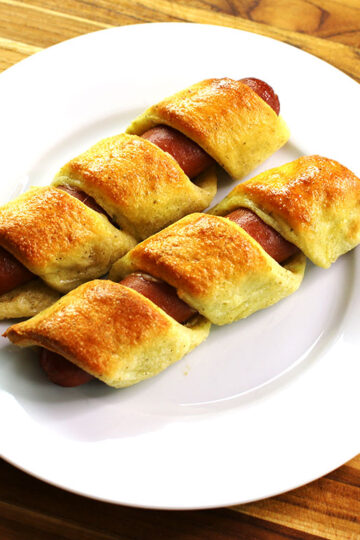 Low Carb Pigs In A Blanket by Highfalutin' Low Carb