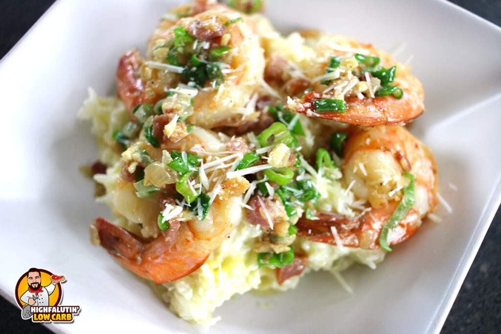 Low Carb Shrimp and Grits Recipe